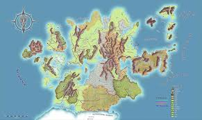 Thedas Map World Map And Book Characters Omega Dragonlance