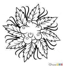 how to draw berry tattoo designs