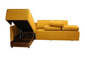 Orange Sofa Bed by Sofa Bed Corner Contemporary Leather New York Luonto