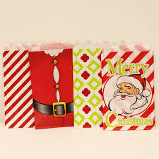 christmas paper bags paper bags candy christmas cookies favors wedding
