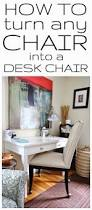 how to turn any chair into a desk chair with wheels sedete