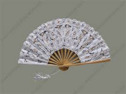held fans white wedding fans held fans han fung work