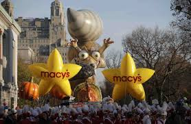 macy s thanksgiving day parade draws millions wsj