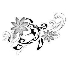 Polynesian Flower Tattoo - best 25 maori tattoo designs ideas on pinterest polynesian