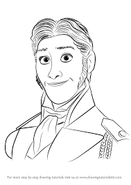 learn draw prince hans frozen frozen step step