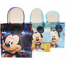 mickey mouse favor bags disney mickey mouse party favor goody gift bags 8