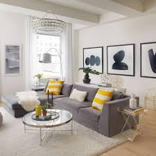 Grey And Yellow Home Decor | black white and yellow home decor living room inspiration art
