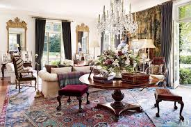 Oriental Rugs For Every Space Photos Architectural Digest - Designer living rooms 2013