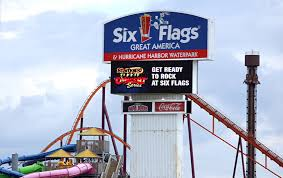 Six Flags Florida Sky Trek Tower At Great America Temporarily Closed After Being