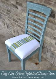 How To Reupholster Dining Chair Re Reupholstered Dining Chairs
