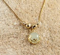 silver necklace with gemstone images Gemstone pendant a gift for her 925 sterling silver gold plated jpg