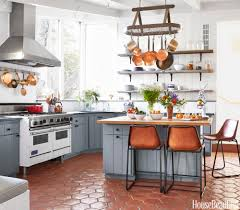 design kitchen 150 beautiful designer kitchens for every style gray cabinets