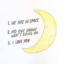 We Are In Love by We Are In Space Dallas Clayton U0027s Doodle Wisdom My Writing