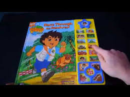 diego race rainfroest play sound nick jr