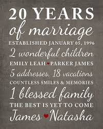 20 year wedding anniversary ideas the 25 best 20 year anniversary gifts ideas on 10
