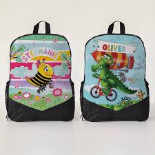 personalised backpacks daycare bags school bags