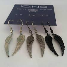 icing cartilage earrings 18 s jewelry angel wing earrings from icing by