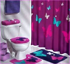 purple bathroom sets purple bath decor good dark purple bathroom setmostly luxury