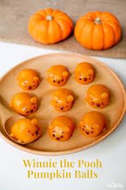 winnie the pooh inspired pumpkin bites disney family