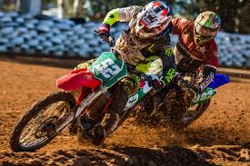 youth motocross racing european 125 cc youth track racing cup at divisov czech republic