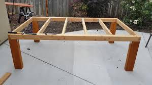 Build A Patio Table Build Patio Table Www Napma Net