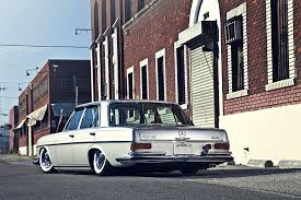 lowered cars 1972 mercedes 280se restored u0026 lowered on air suspension photo