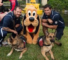 mickey pluto honor service dogs invictus games