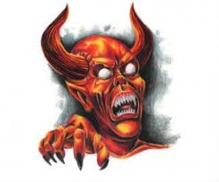 awesome devil face tattoo design photos pictures and sketches