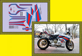 martini racing ducati racing mini decals 041 ducati 1199 panigale s martini racing