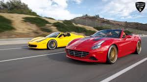 Ferrari California Back - ferrari california u2013 gfg forged fm757 u2013 giovanna luxury wheels