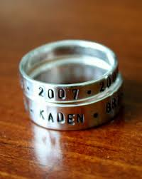 rings with children s names 31 best baby name rings images on name rings