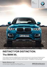 bmw ads instinct for distinction the bmw x6 u2013 sokoniadvertiser