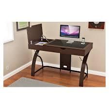 z line keaton computer desk workcenter espresso pcrichard com