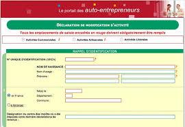 changement adresse si e social comment changer d activité en auto entrepreneur autoentrepreneur fr