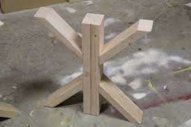 Woodworking Making Table Legs by Diy Dining Table For Only 65 Shanty 2 Chic