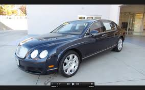 2006 Bentley Continental Flying Spur Start Up Exhaust And In