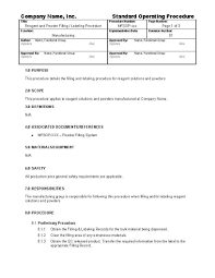 free sop template invoice letterhead