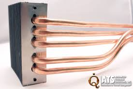 heat spreading with copper silicon and heat pipes advanced