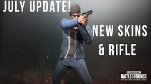 pubg update today pubg july update new rifle first person servers and new skins