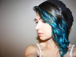 blue hair extensions with blue hair extensions beauty s bad habit