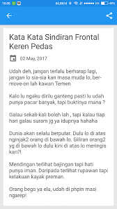kata kata sindiran sadis android apps on play