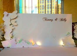 wedding backdrop hk kalo make bespoke wedding invites for tammy billy