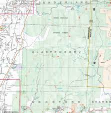 Uvm Campus Map The Vanished Town Of Glastenbury And The Bennington Triangle