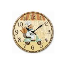country kitchen wall clocks homes design inspiration