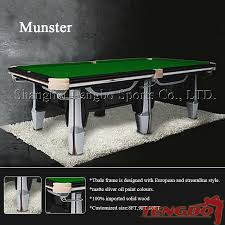 Professional Pool Table Size by Professional Design Tb Cs081 Custom Pool Table Covers Buy Custom