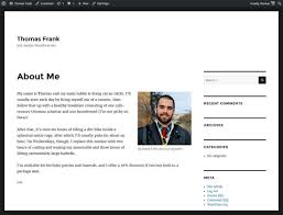 how to write a resume for teaching job the ultimate guide to building a personal website college info geek about me page with default theme
