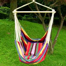 bedroom delectable hanging swing hammock chair armrests canvas