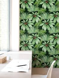 palm leaf wallpaper removable wallpaper self adhesive
