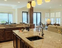 modern open kitchen dining room designs caruba info double brown modern open kitchen dining room designs tile floor connected by white kitchen islands and