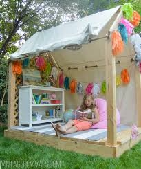 Building A Tent Platform 25 Diy Forts To Build With Your Kids This Summer Tipsaholic